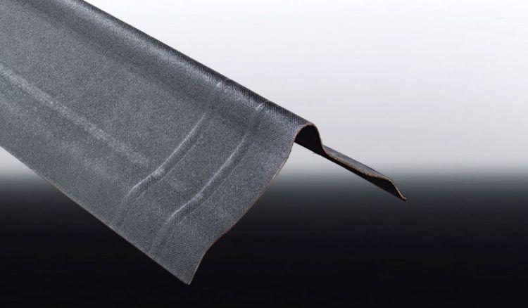 Unsere günstige Firsthaube für ONDALUX Bitumenwellplatten ist in der Farbe Schwarz erhältlich. Die Firsthaube hat das Maß 180 x 180 x 1000 mm. Passendes Montagezubehör finden Sie bei uns im Shop.
