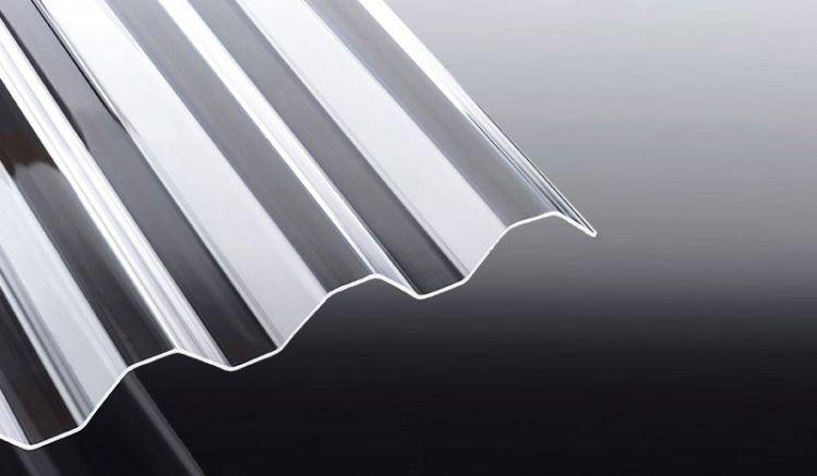 Die glasklaren und sehr schlagzähen Acryl Wellplatten haben eine hohe Lichtdurchlässigkeit und sind vergilbungsfrei. Wählen Sie zwischen Längen von 2000 - 5000 mm.