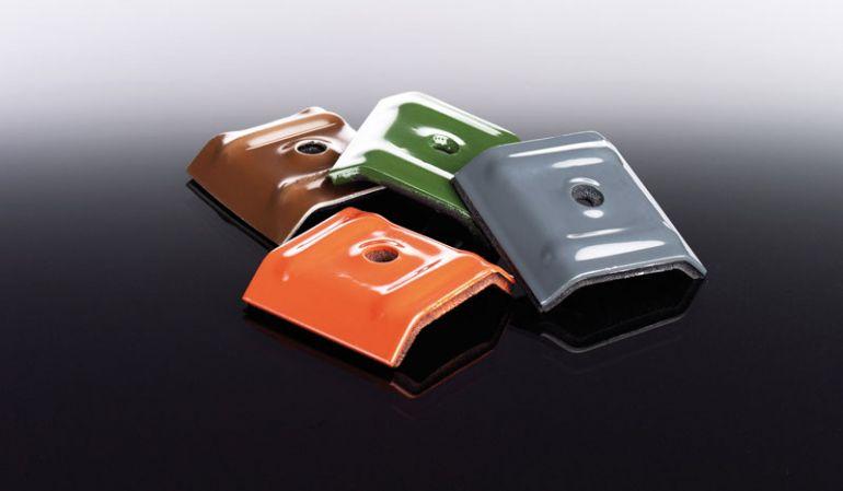 Unsere preiswerten Alu Kalotten zur Befestigung von 76/18 Trapezblechen. Farblich passend in allen verfügbaren Trapezblechfarben.