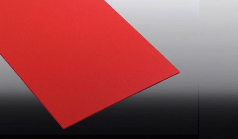 Unsere 3 mm Hartschaumplatten aus PVC haben die Farbe Rot. Erhältlich in den Maßen: 250 x 500 mm, 500 x 500 mm, 1000 x 500 mm, 1250 x 500 mm und 1500 x 500 mm.