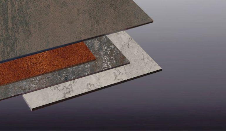 Unsere 8 mm HPL-Platten für die Fassade im Maß 1320 x 3050 mm sind ETB-geprüft und haben eine lange Herstellergarantie. Die Platten sind in 4 lichtechten Steindekoren erhältlich.