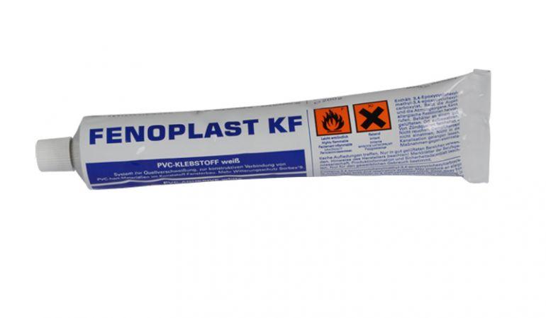 Kontaktkleber für Hart-PVC-Teile. Nur im Freien verwenden!