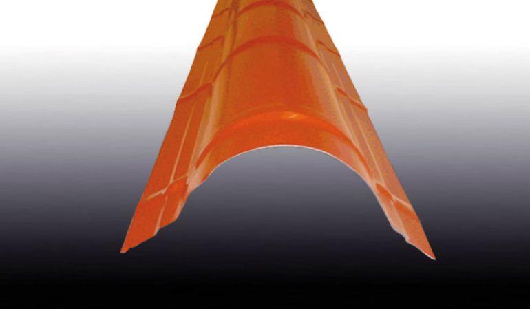 Unsere CE-zertifizierten und langelebigen Pfannen-Firstbleche sind für Dachneigungen von 7 ° - 35 ° geeignet und in den Farben Moosgrün, Anthrazitgrau, Kupferbraun, Rotbraun und Schokoladenbraun erhältlich.
